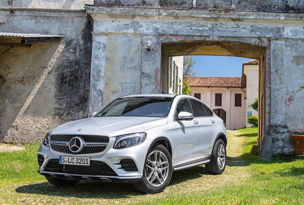 Noleggio mercedes GLC COUPE Glc 220 D 4matic Executive
