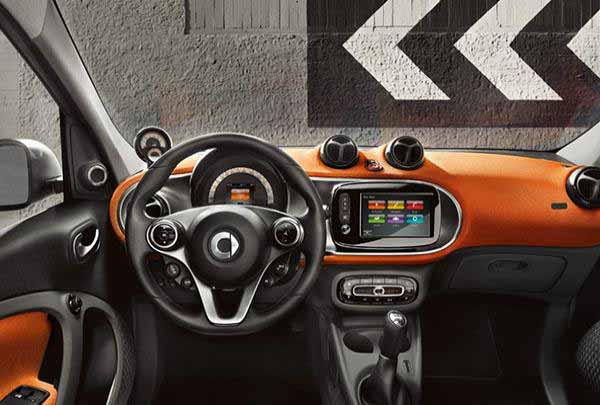 Noleggio smart FORFOUR 60 Youngster